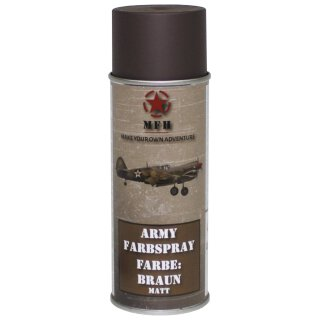 "Farbspray, ""Army"" BRAUN, matt, 400 ml"