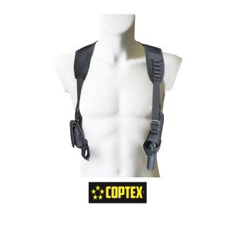 COPTEX Schulterholster mit Handschellentasche