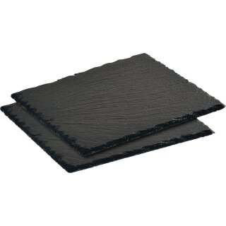 Schieferplatte (Buffet) 20*20 cm