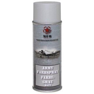 """Farbspray, """"Army"""" GRAU, matt, 400 ml"""