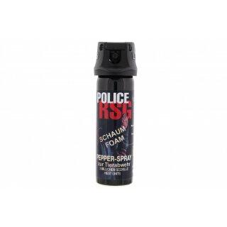 RSG Foam Schaum Pfefferspray 63 ml Spray Selbstschutz Security Profi Abwehr Neu