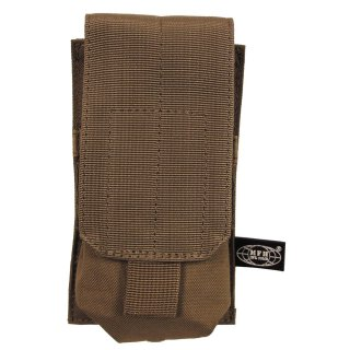 Magazintasche einfach,MOLLE, Modular System, coyote tan