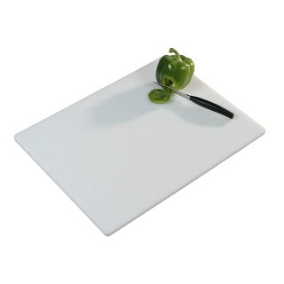 Gastro Profi Tranchierbrett weiß PE-Kunststoff, 51x38  cm