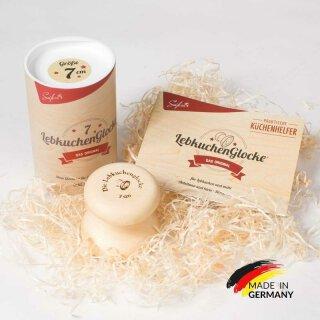 """Lebkuchenform """"Lebkuchenglocke"""" 9cm"""