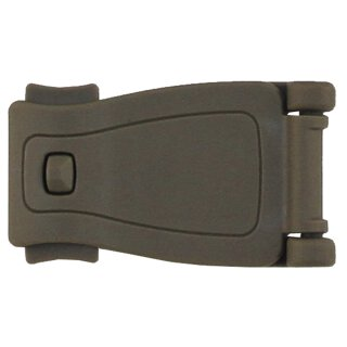 Adapter-Clip, Plastik, MOLLE, coyote tan