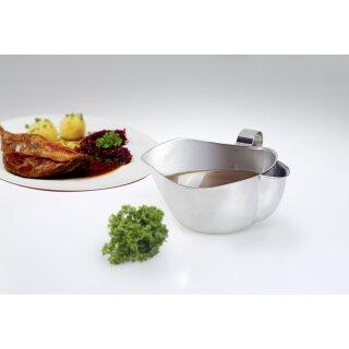 Fett-Trenn-Sauciere / Edelstahl