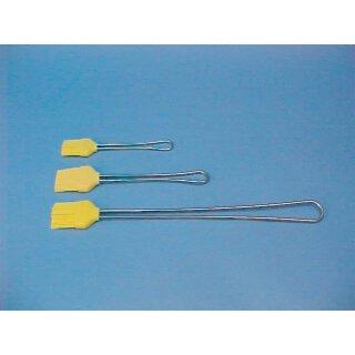 Küchenpinsel aus Silikon mit Edelstahlgriff, 22 cm