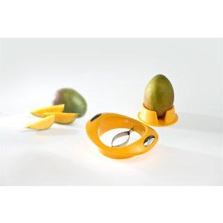 Mangoschneider mit Fruchhalter