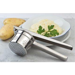 Kartoffelpresse / Edelstahl mit seitlicher Lochung