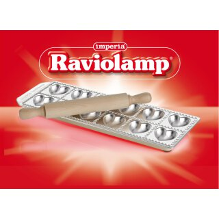 "Ravioliform ""Ravioli Cuoricini"" mit Teigrolle"