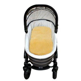 Lammfell-Einlagen für Kinderwagen