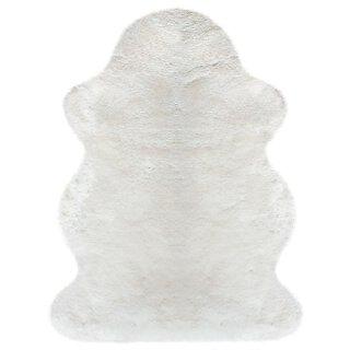 Merino Lammfell naturweiß 110 cm