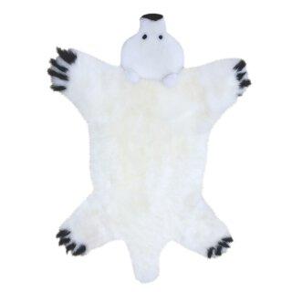 """Lammfell Spielteppich """"Eisbär"""""""